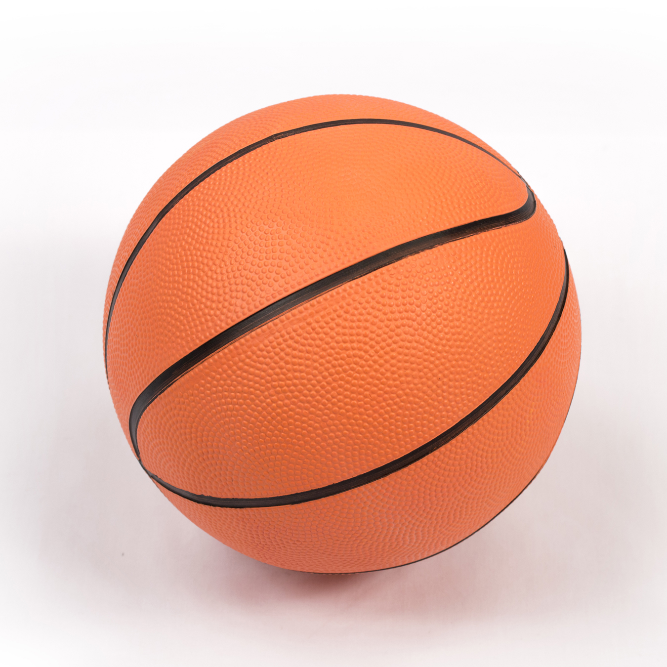 Orange Plain Mini Basketball